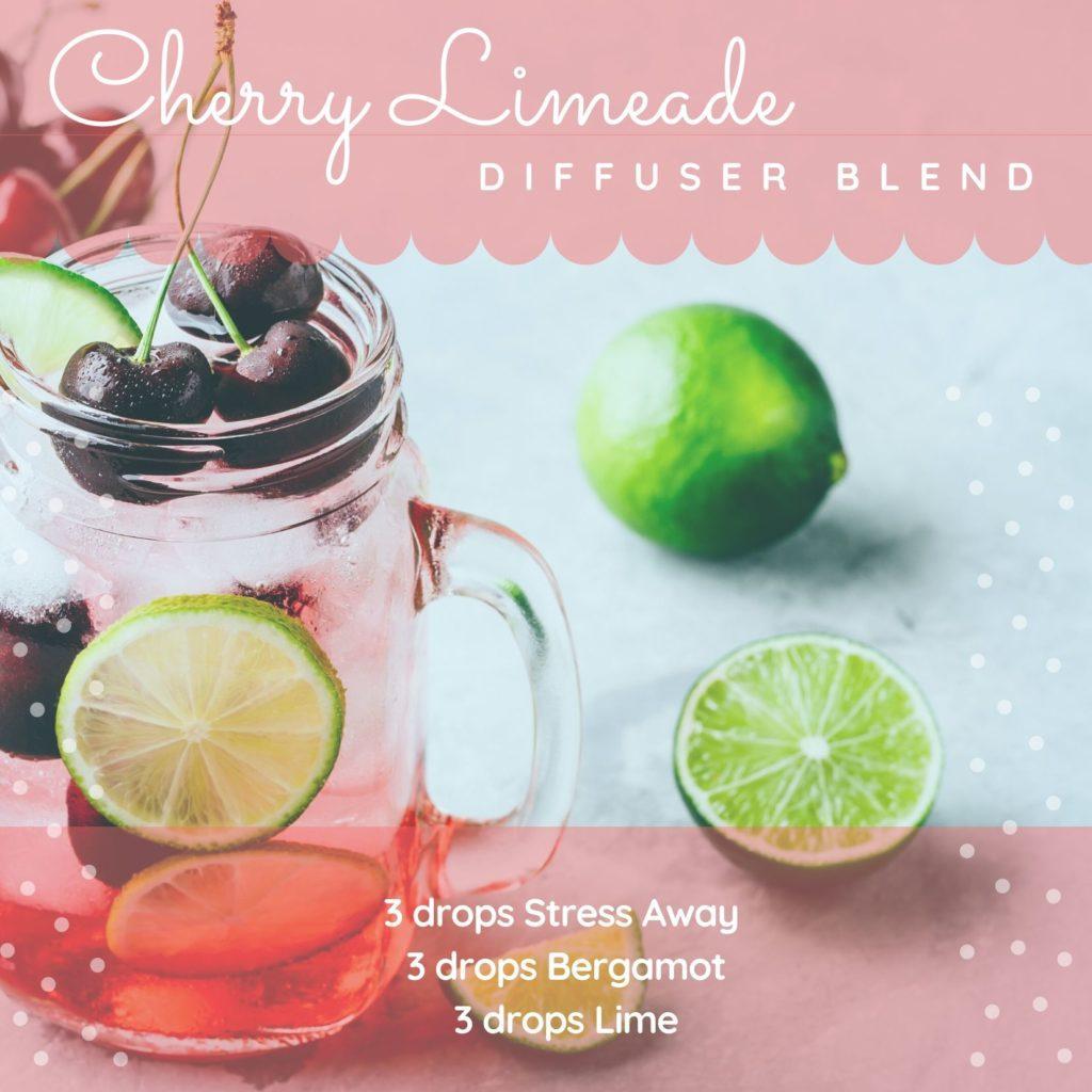 Cherry limeade diffuser blend!