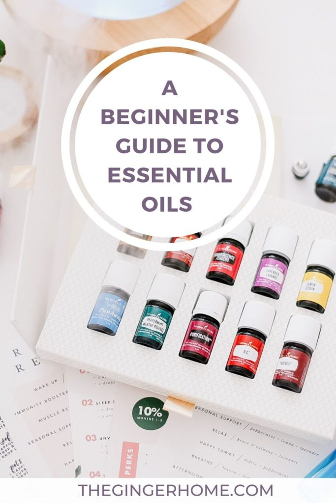 Essential Oil Starter Kit - the best way to get started using essential oils