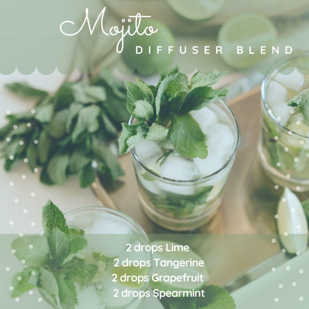 Mojito diffuser blend for summer