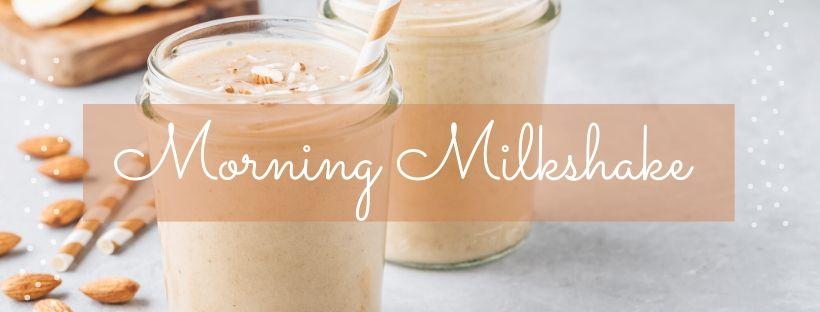 morning milkshake recipe with essential oils