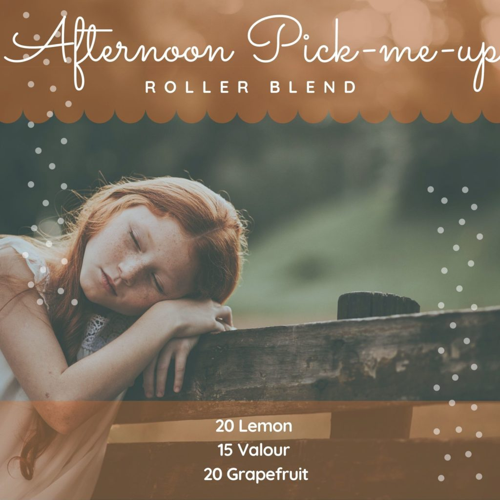 Afternoon Pick Me Up Essential Oil Roller Recipe