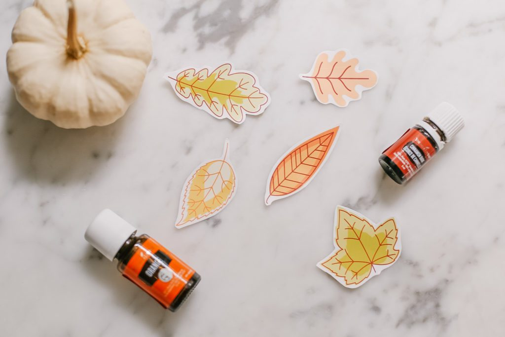 Free printable fall leaf stickers