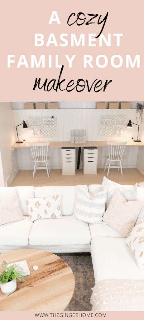 7 Ways to Create a Cozy Basement Family Room