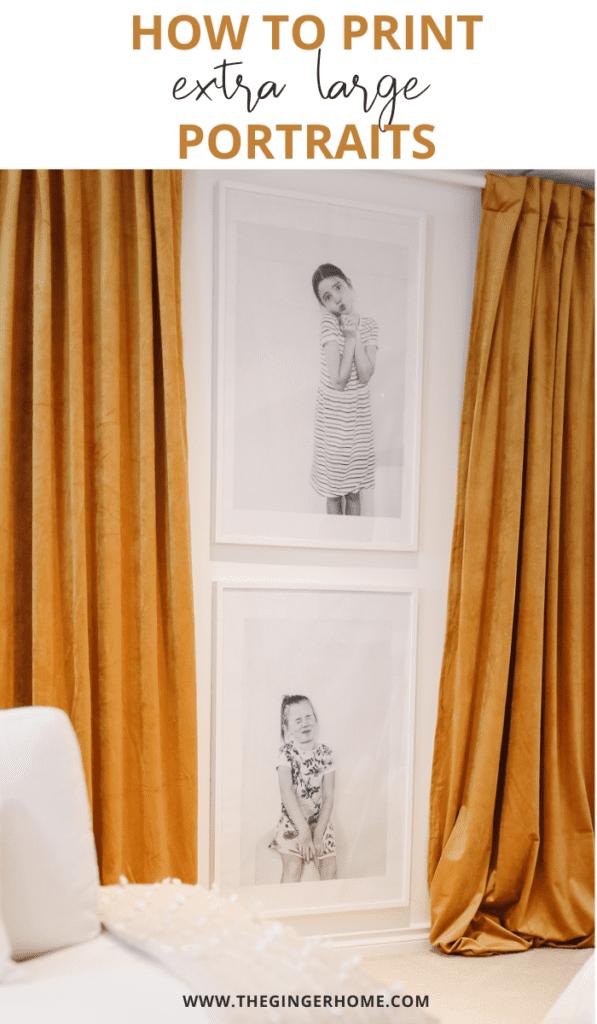 Print Extra Large Photo Portraits