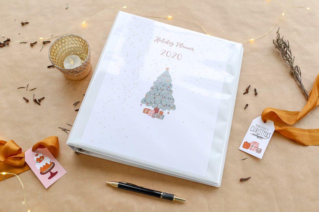 Printable holiday planning binder!