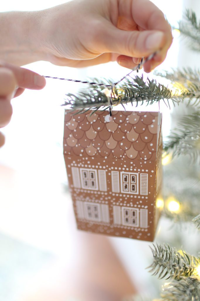 The cutest Gingerbread House Advent Calendar!