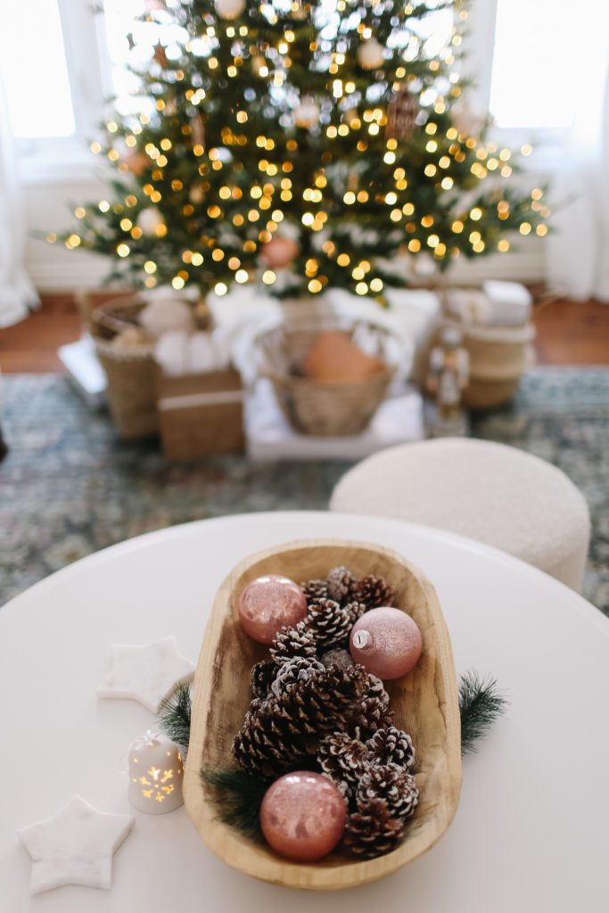 Pink Christmas Home Tour