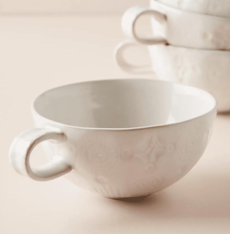 Old Havana Mugs, Set of 4