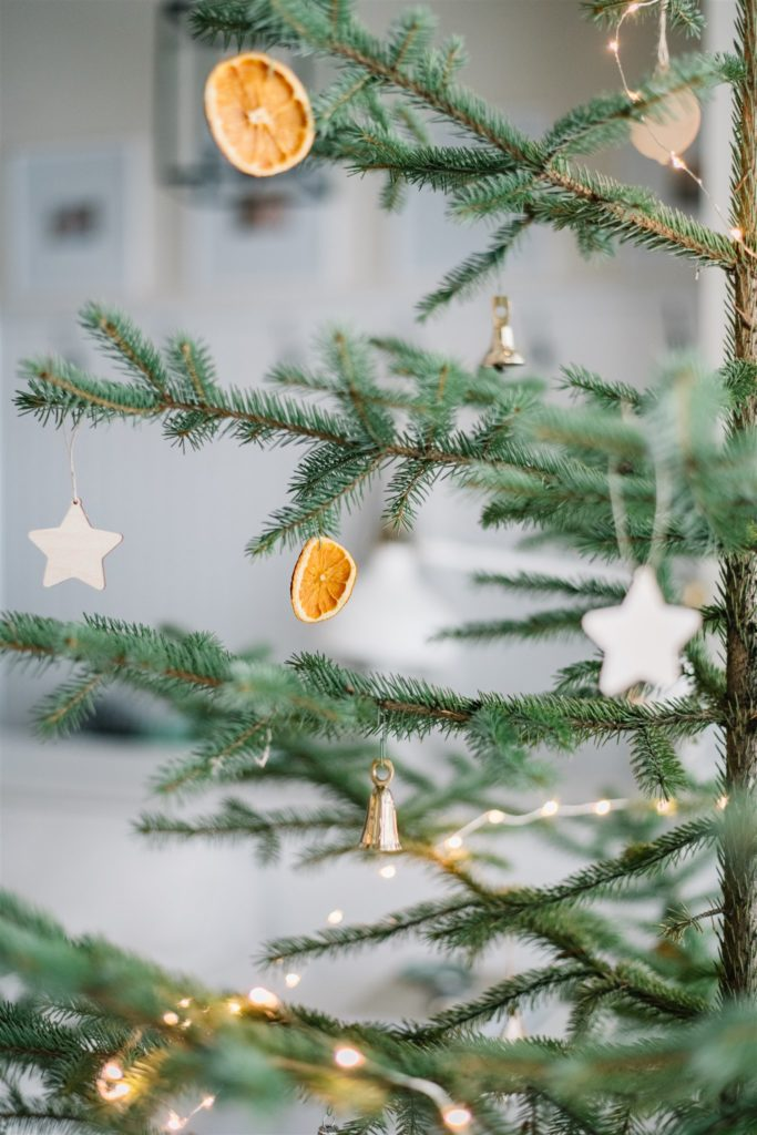 Decorate a sparse Christmas tree this holiday season
