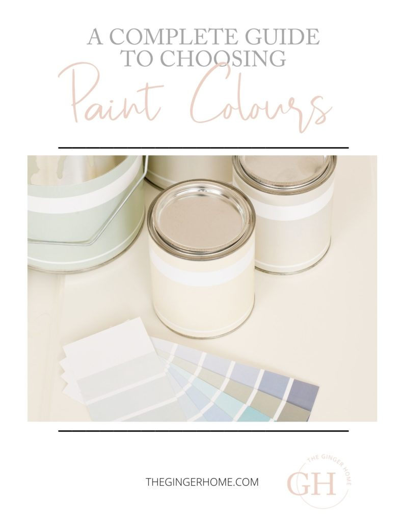 A complete guide to choosing the best interior paint colours for your home!