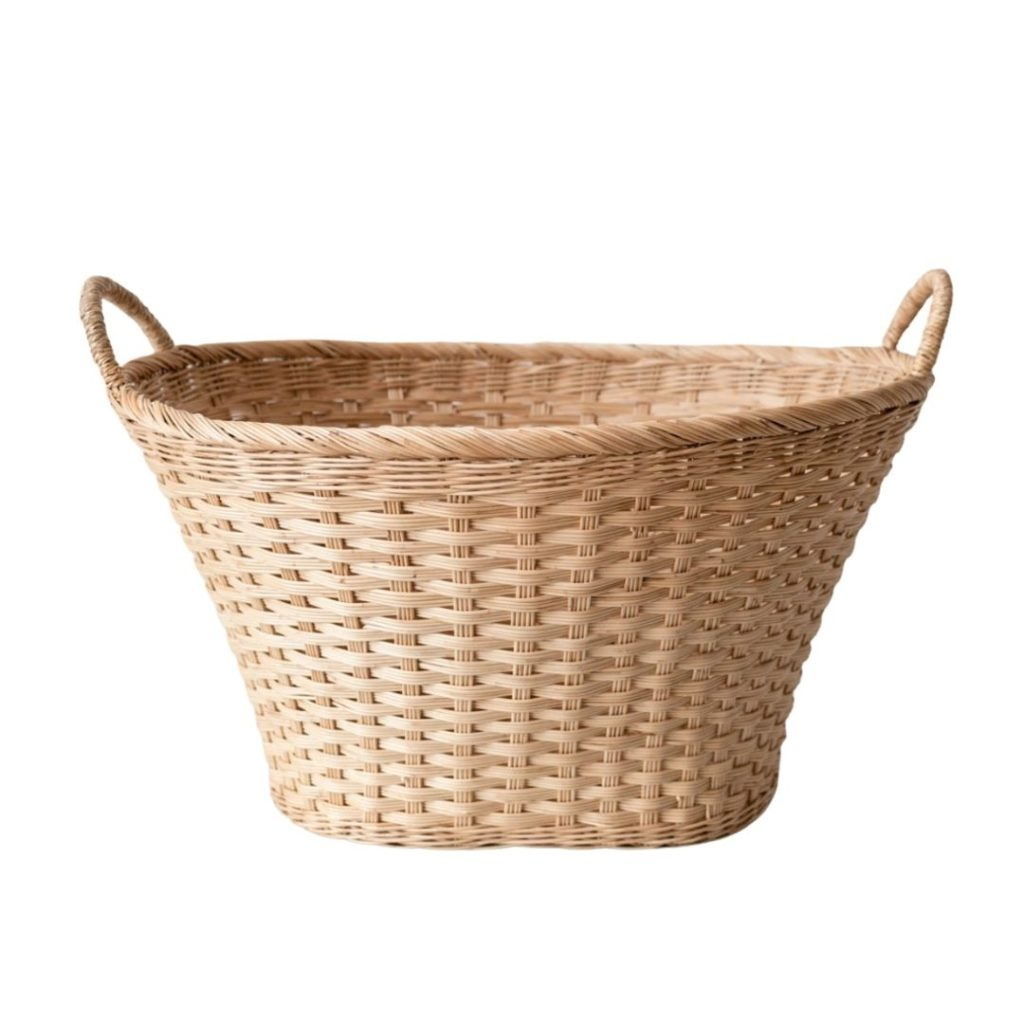 woven laundry basket