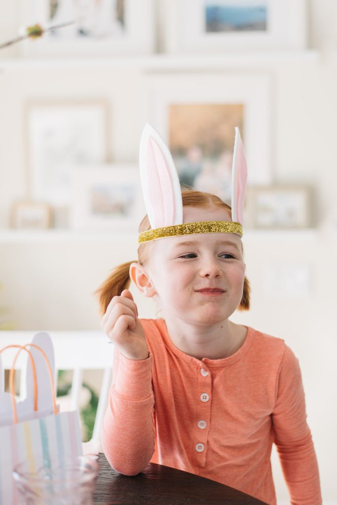 easter bunny ears costume for kids
